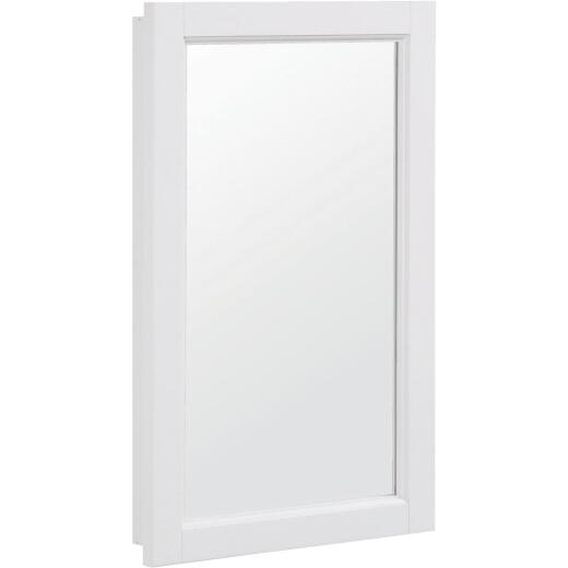 Design House Wyndham White 16 In. W x 30 In. H x 4-3/4 In. D Single Mirror Surface Mount Medicine Cabinet