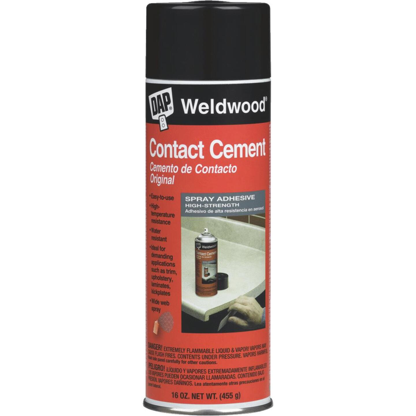 Dap Welwood 16 Oz. Contact Cement Image 1