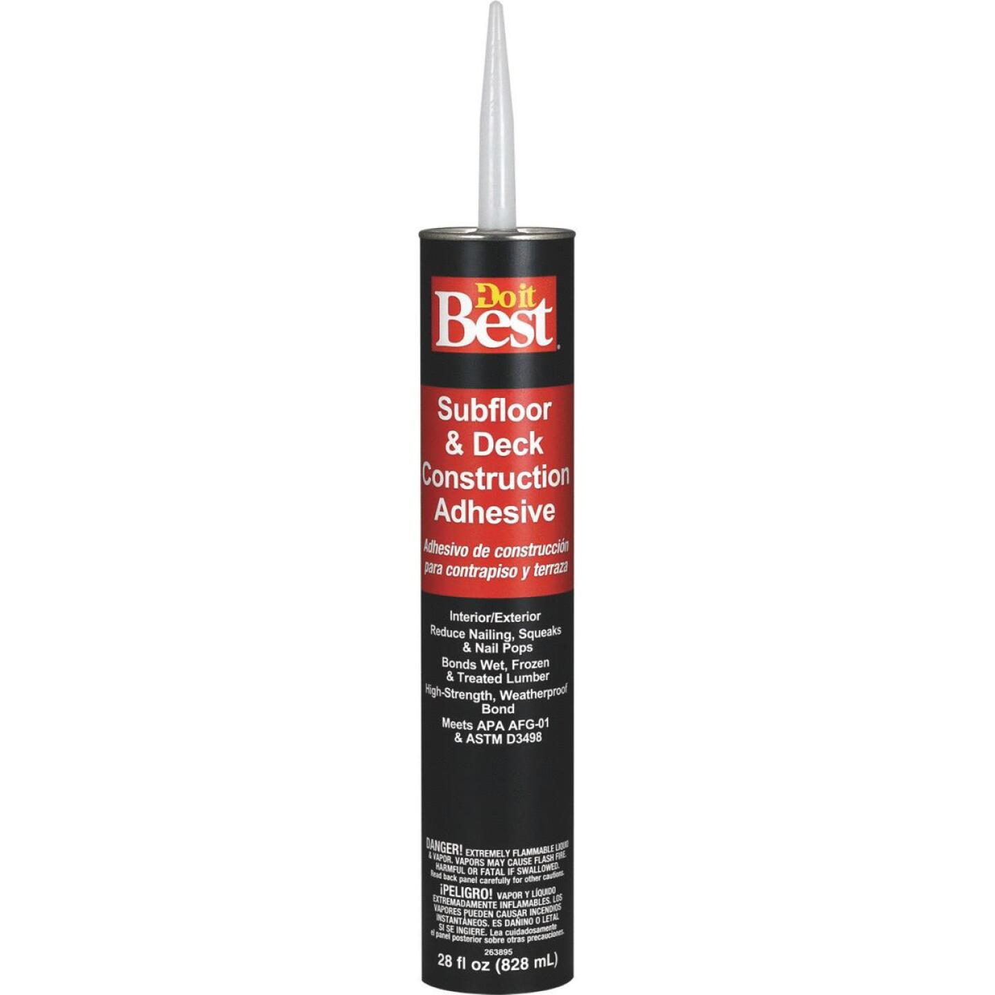 Do it Best 28 Oz. Decking And Subfloor Adhesive Image 1
