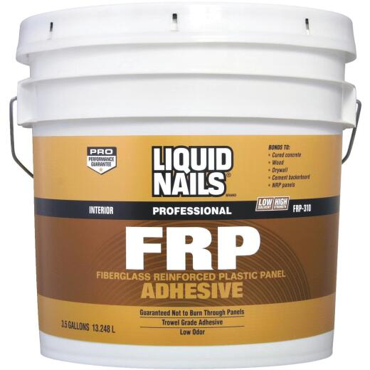 LIQUID NAILS 3.5 Gal. FRP Panel Adhesive