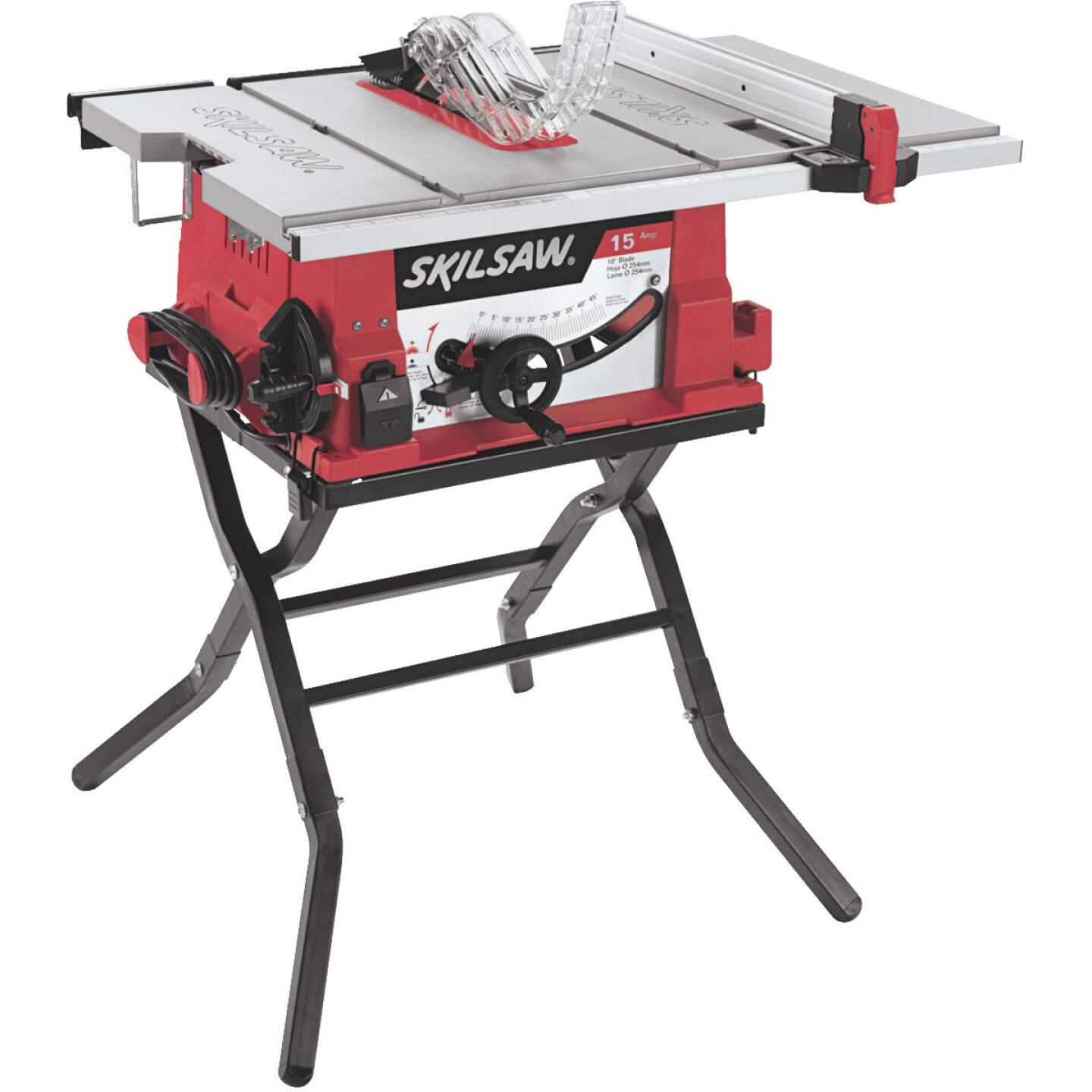 SKILSAW 15-Amp 10 In. Table Saw with Folding Stand Image 1