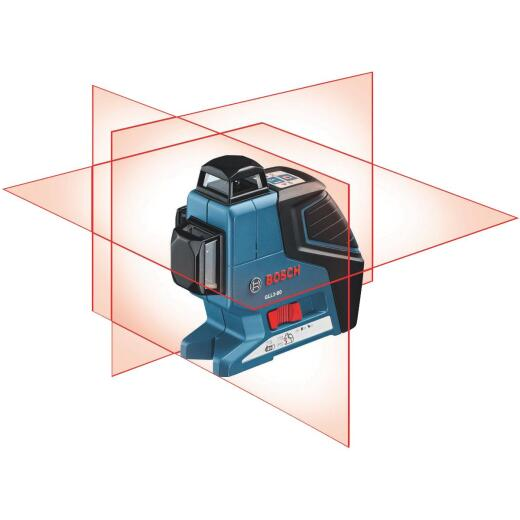 Bosch 265 Ft. Self-Leveling 360 Degree 3-Plane and Alignment Line Laser Level