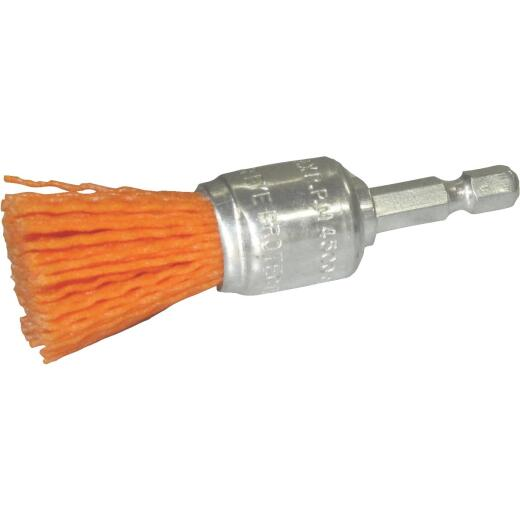 Dico Nylox 3/4 In. Coarse Drill-Mounted Wire Brush