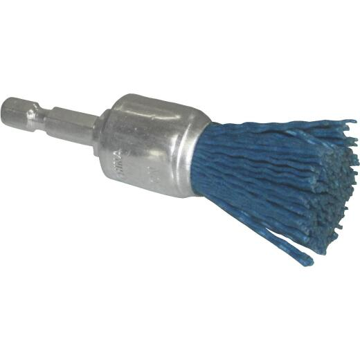 Dico Nylox 3/4 In. Medium & Fine Drill-Mounted Wire Brush