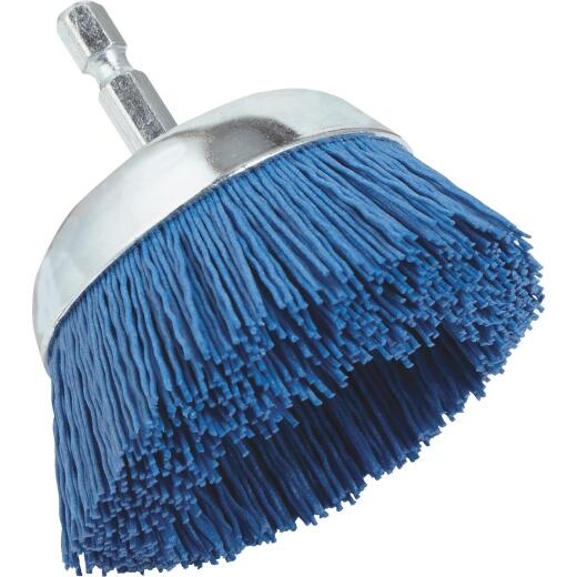 Dico Nylox 2-1/2 In. Fine Drill-Mounted Wire Brush