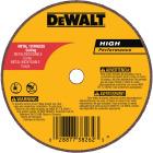 DeWalt HP Type 1 4 In. x 1/16 In. x 5/8 In. Metal/Stainless Cut-Off Wheel Image 1