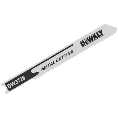 DeWalt U-Shank 3 In. x 24 TPI High Carbon Steel Jig Saw Blade, Metal (5-Pack)