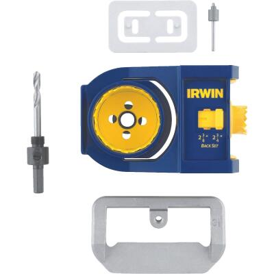 Irwin Bi-Metal Door Lock Installation Kit for Wood and Metal Doors