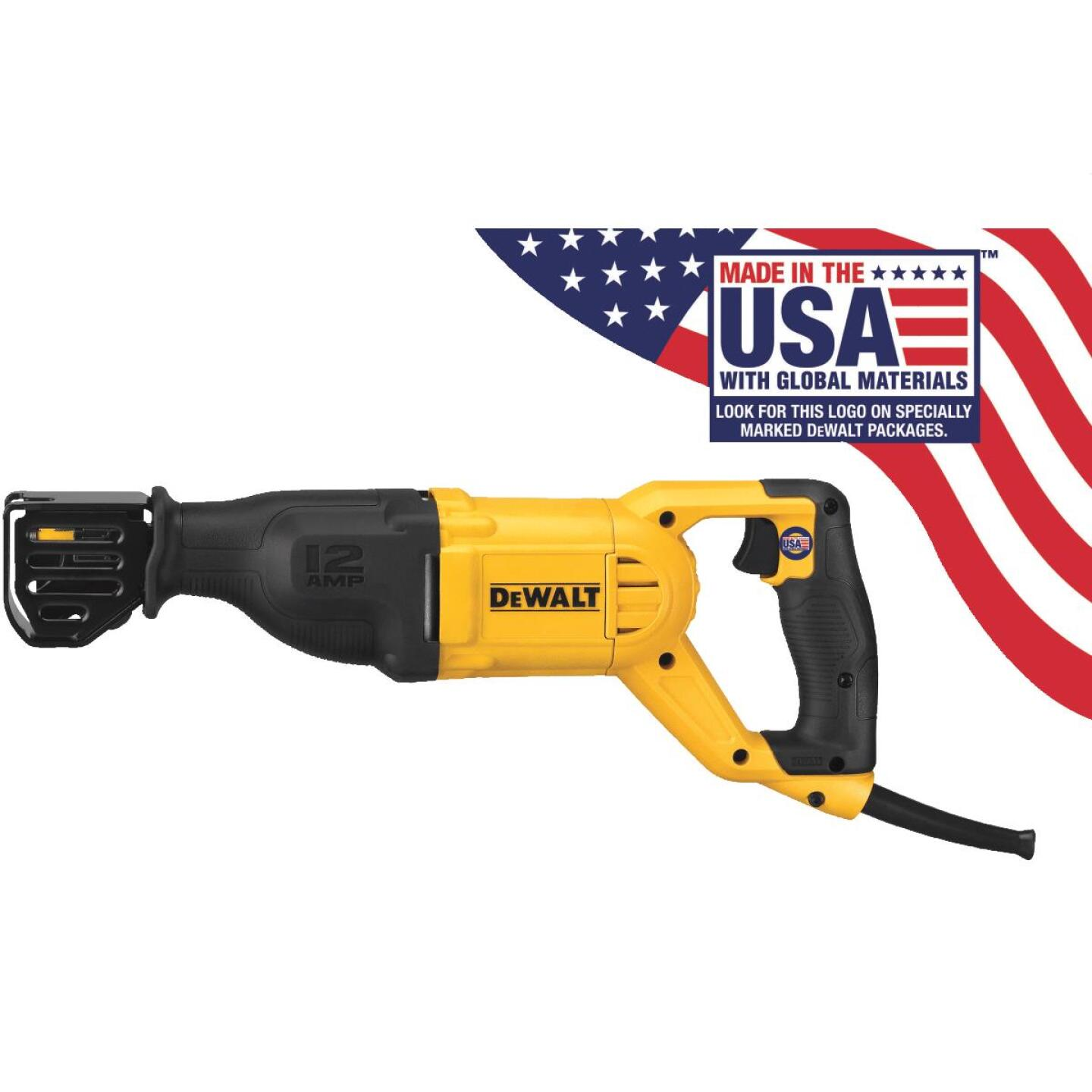 DeWalt 12-Amp Reciprocating Saw Image 1