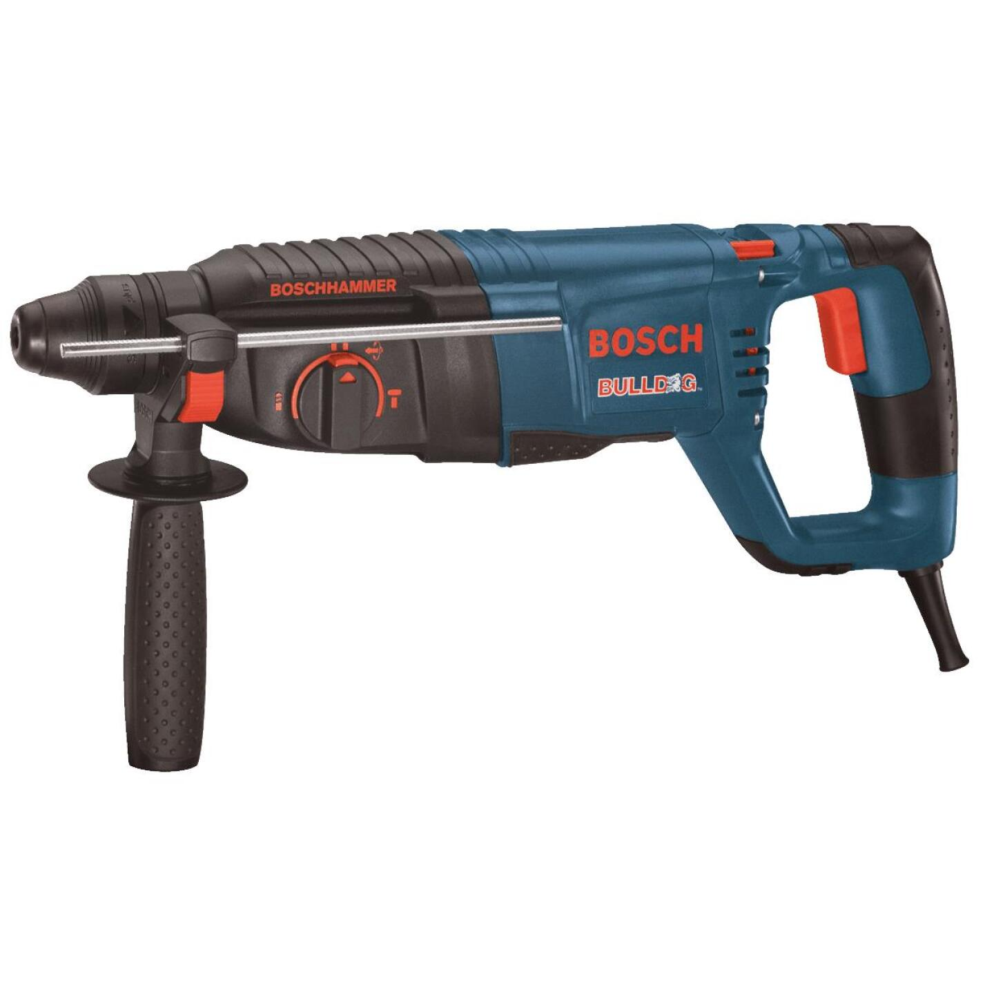 Bosch BULLDOG Xtreme 1 In. SDS-Plus 7.5-Amp Electric Rotary Hammer Drill Image 1