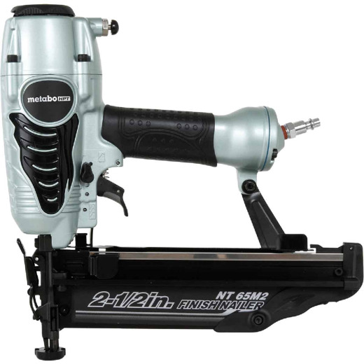 Metabo HPT 16-Gauge 2-1/2 In. Straight Finish Nailer with Air Duster