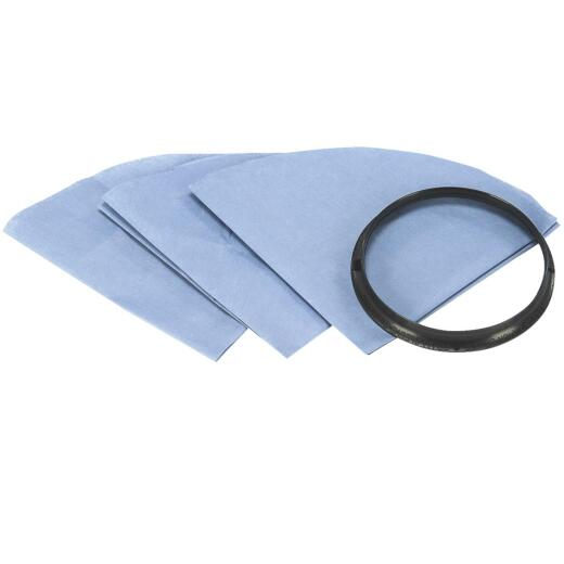 Shop Vac Paper Disc Standard Dry Pick-Up Only Vacuum Filter (3-Pack)