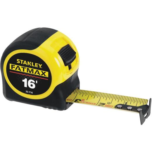 Stanley FatMax 16 Ft. Classic Tape Measure with 11 Ft. Standout