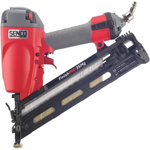 Senco FinishPro 35Mg 15-Gauge 2-1/2 In. Angled Finish Nailer