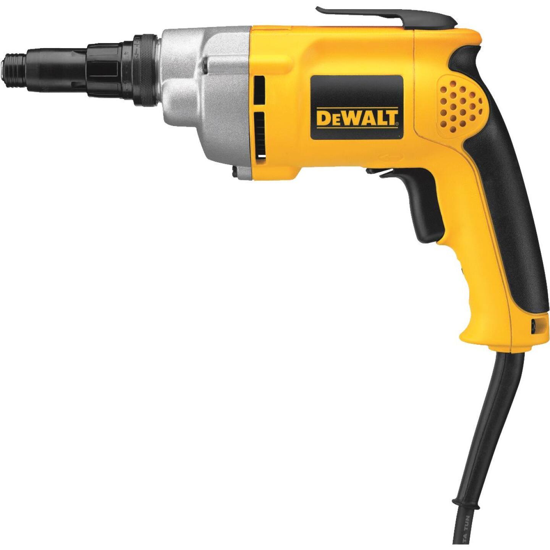 DeWalt 6.5A/2500 rpm 132 In./Lb. Torque Electric Screwgun Image 2