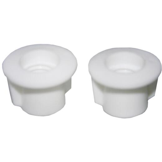 """Lasco 7/16"""" White Plastic Toilet Seat Bolt, Includes Nuts and Washers"""