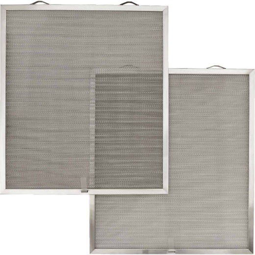 Broan-Nutone Open Mesh Aluminum Range Hood Grease Filter (2-Pack)