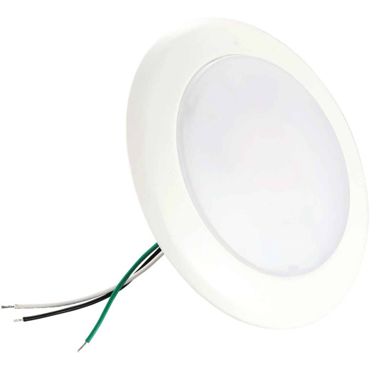 6 In. Retrofit IC Rated White LED DOB CCT Selectable Surface Mount Down Light