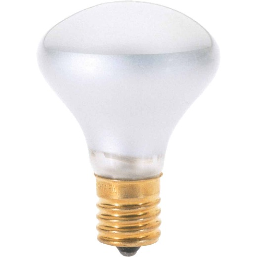 Satco 40W Clear Intermediate Base R14 Reflector Incandescent Floodlight Light Bulb