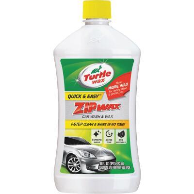 Turtle Wax Zip Wax Liquid 16 oz Car Wash