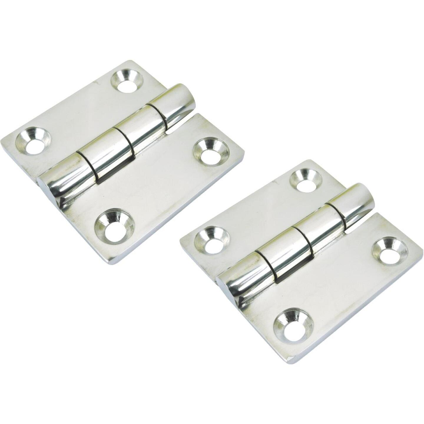Seachoice 2 In. Stainless Steel Butt Hinge (2-Pack) Image 1