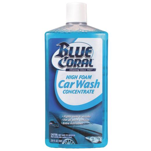 Blue Coral 20 Oz. Liquid High Foam Concentrate Car Wash