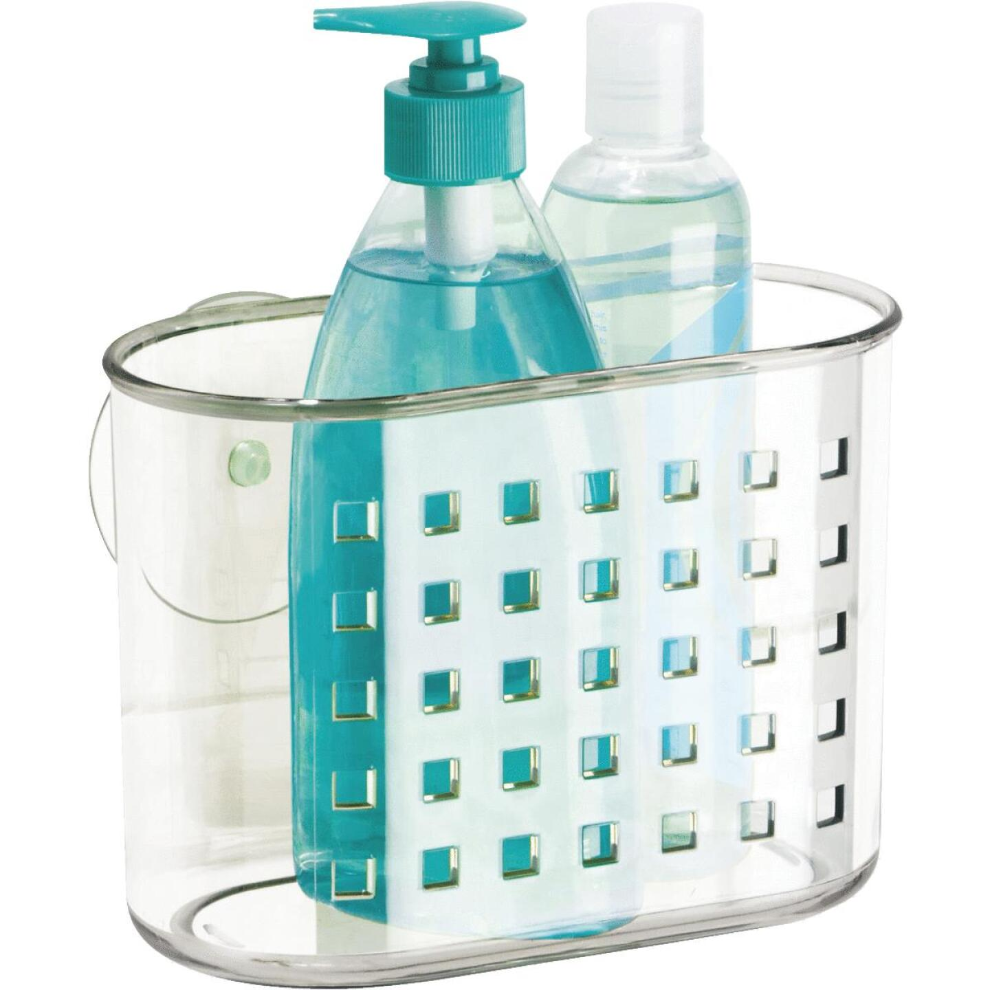 InterDesign 7.25 In. x 5 In. x 3.5 In. Suction Shower Basket Image 3