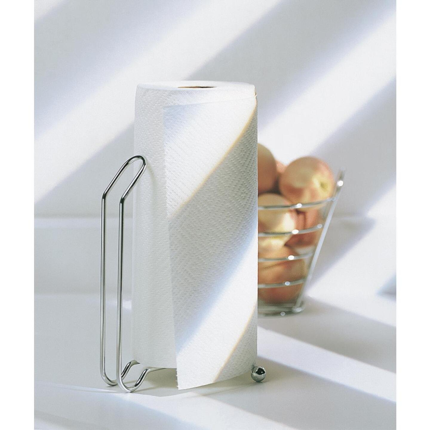 InterDesign Aria Paper Towel Holder Stand Image 2