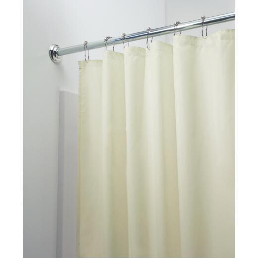 InterDesign 72 In. x 72 In. Sand Polyester Shower Curtain Liner