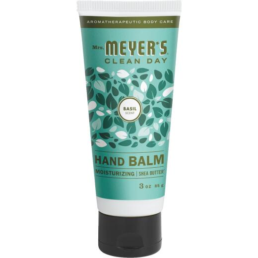 Mrs. Meyer's Clean Day 3 Oz. Basil Hand Balm