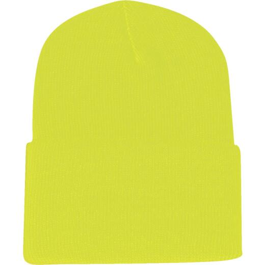 Outdoor Cap Neon Yellow Cuffed Sock Cap