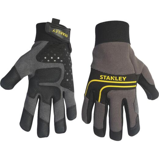 Stanley Men's Large Synthetic Leather Work Glove