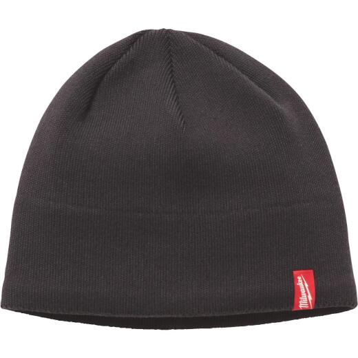 Milwaukee Fleece Lined Gray Beanie Sock Cap