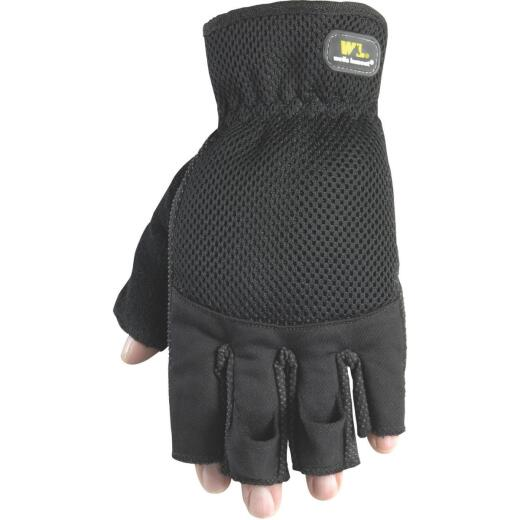 Wells Lamont Men's Large Canvas Stretchable Fabric Carpenter's Glove