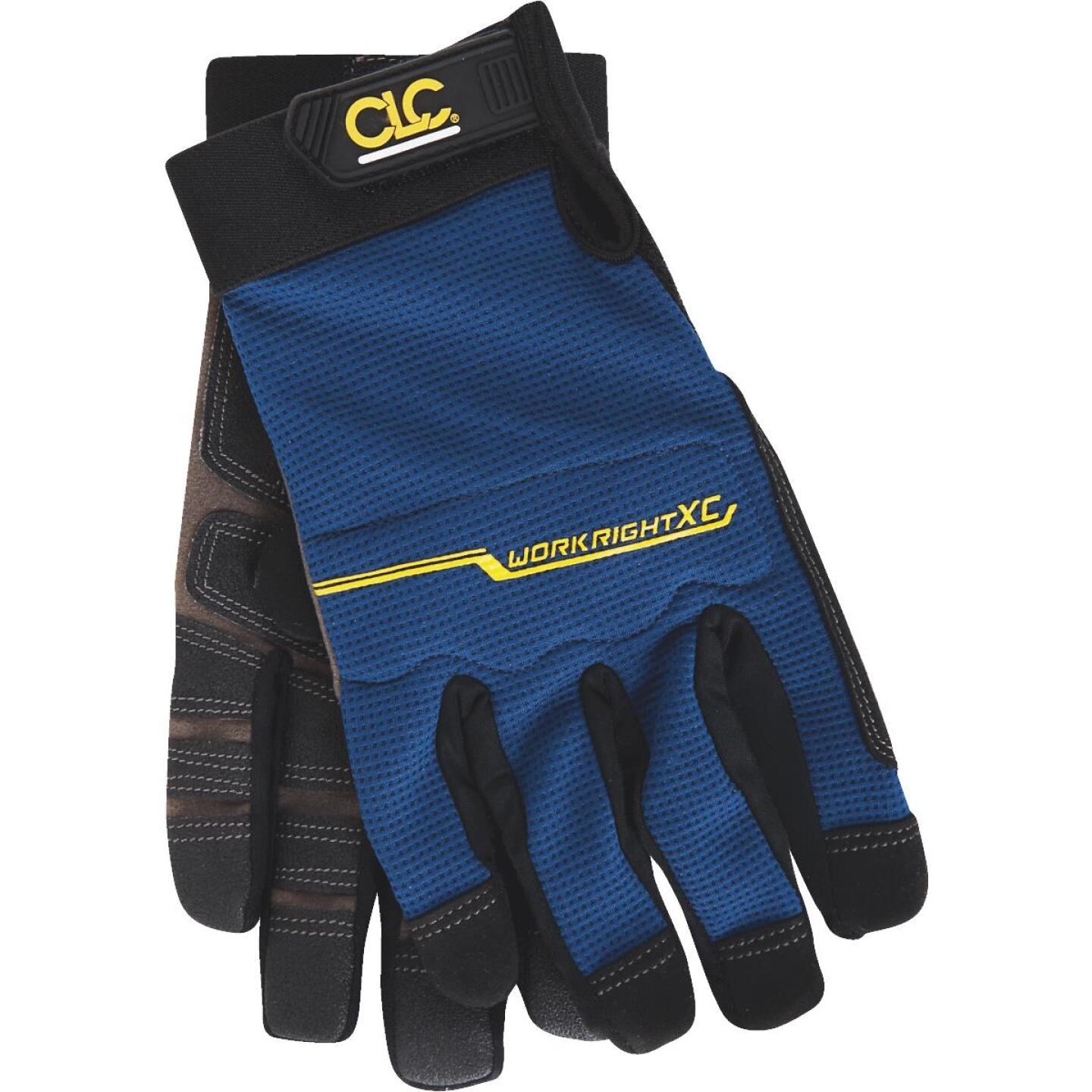 CLC Workright XC Men's Medium Synthetic Leather Flex Grip High Performance Glove Image 1
