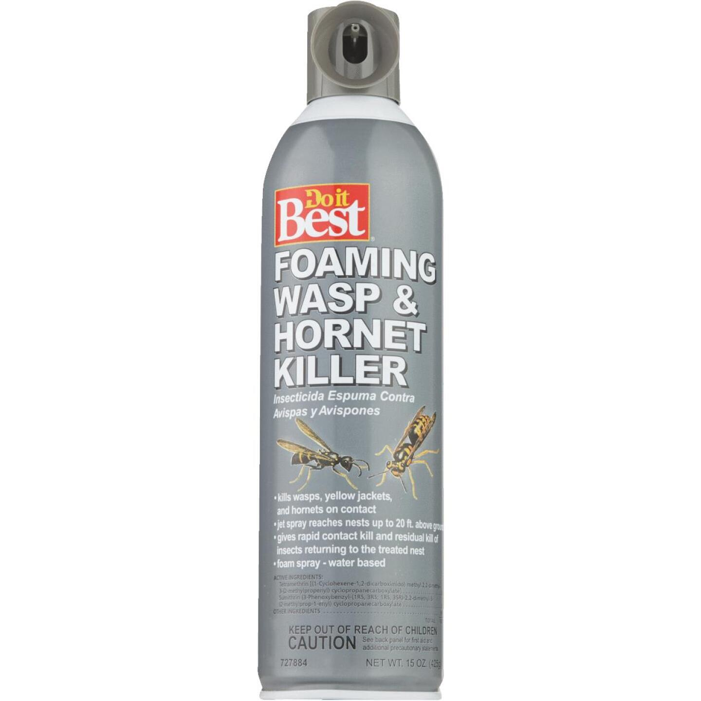 Do it Best 17.5 Oz. Foaming Aerosol Spray Wasp & Hornet Killer Image 2