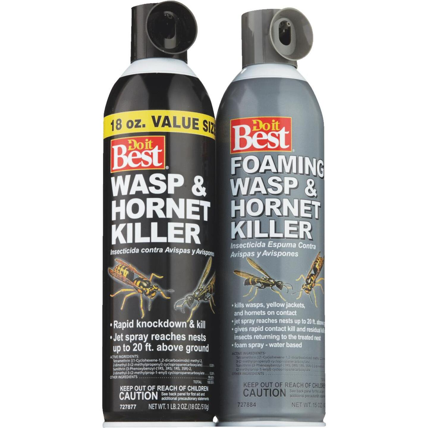 Do it Best 17.5 Oz. Foaming Aerosol Spray Wasp & Hornet Killer Image 4