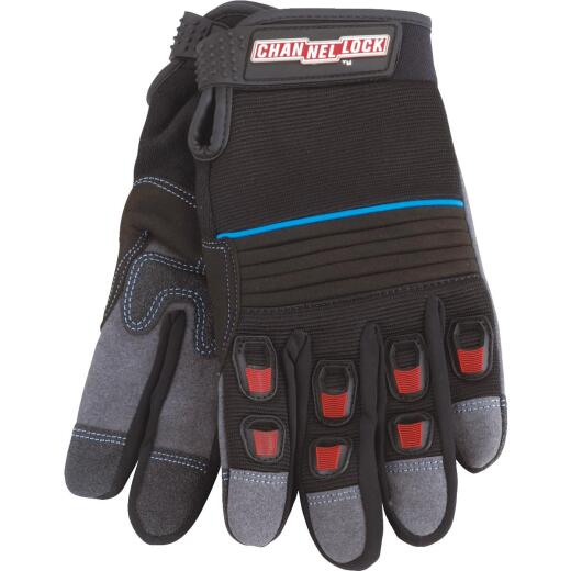 Channellock Men's Medium Synthetic Leather Heavy-Duty High Performance Glove