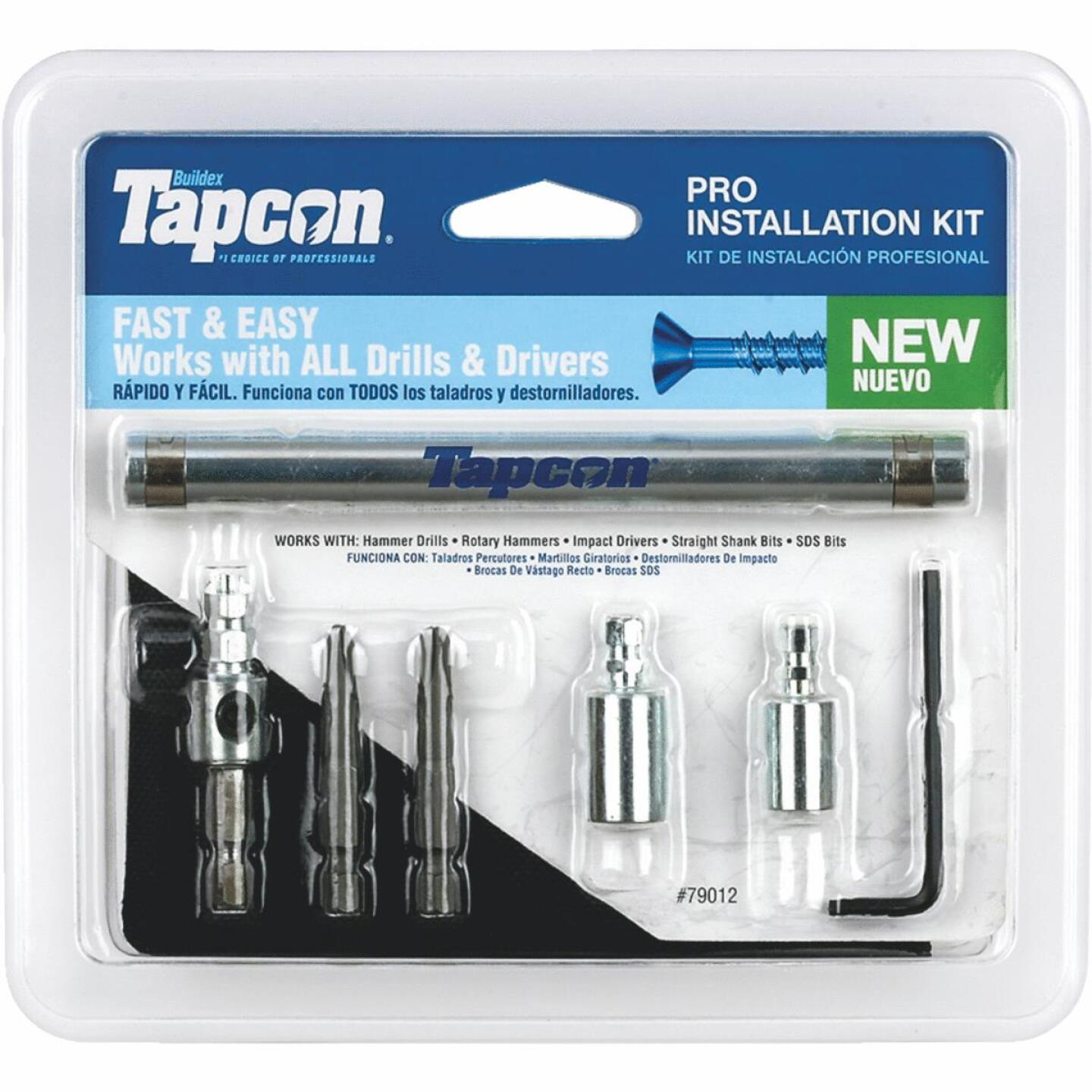 Tapcon Masonry Drill Bit Set (7-Pieces) Image 1