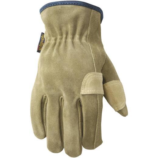 Wells Lamont HydraHyde Men's Large Suede Leather Work Glove