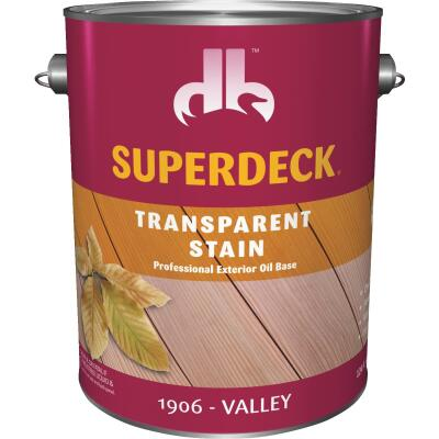 Duckback SUPERDECK VOC Transparent Exterior Stain, Valley, 1 Gal.