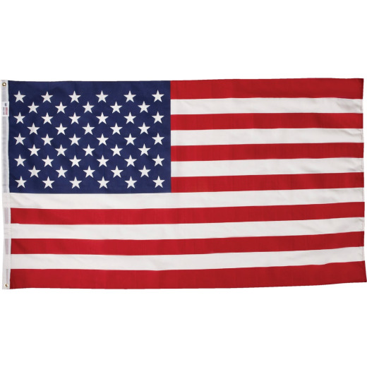 Valley Forge 3 Ft. x 5 Ft. Polycotton American Flag