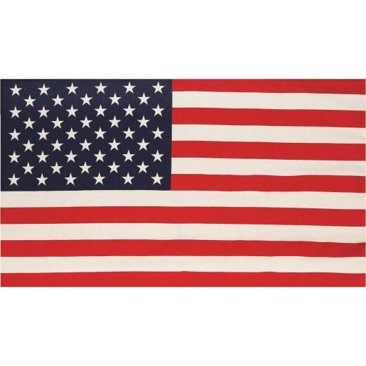 Valley Forge 2.5 Ft. x 4 Ft. Polycotton Banner American Flag